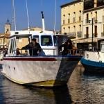 Réalisation du shooting Photo pour le futur site de Promenade en Bateau à Marseillan