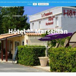 creation site d'hotel restaurant