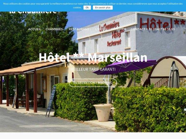 Création site internet Hotel Restaurant Marseillan Plage 34340