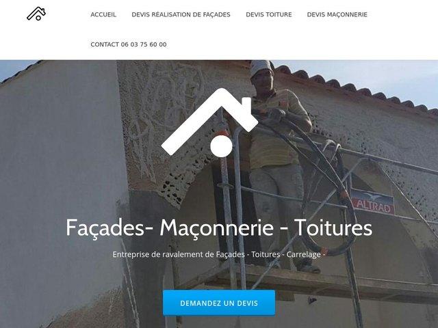 Réalisation d'un Site internet à Béziers Cas Concret