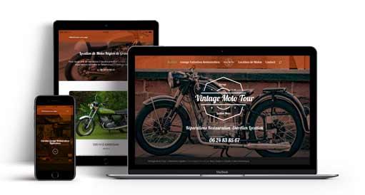 réalisation de site internet vitrine