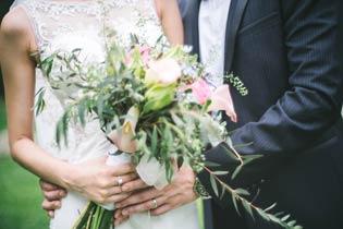 bouquet de la mariee