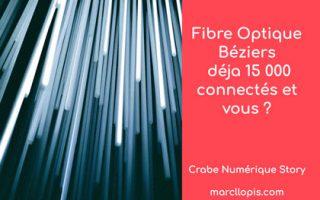 Béziers à fond dans le numérique et l'internet avec l'arrivée de la fibre
