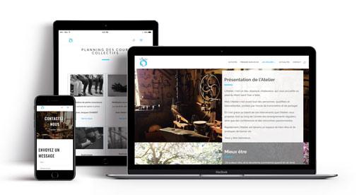 Création site internet  Association sete