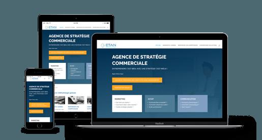 création de site internet responsive Séte 34200