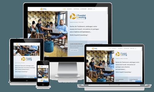 création site internet  location de bureau