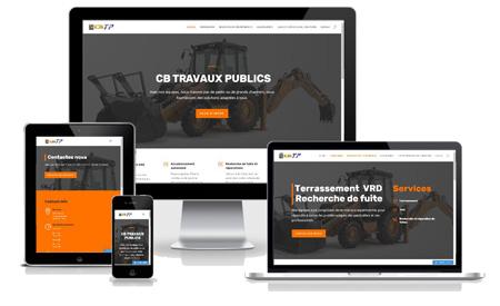 site internet construction